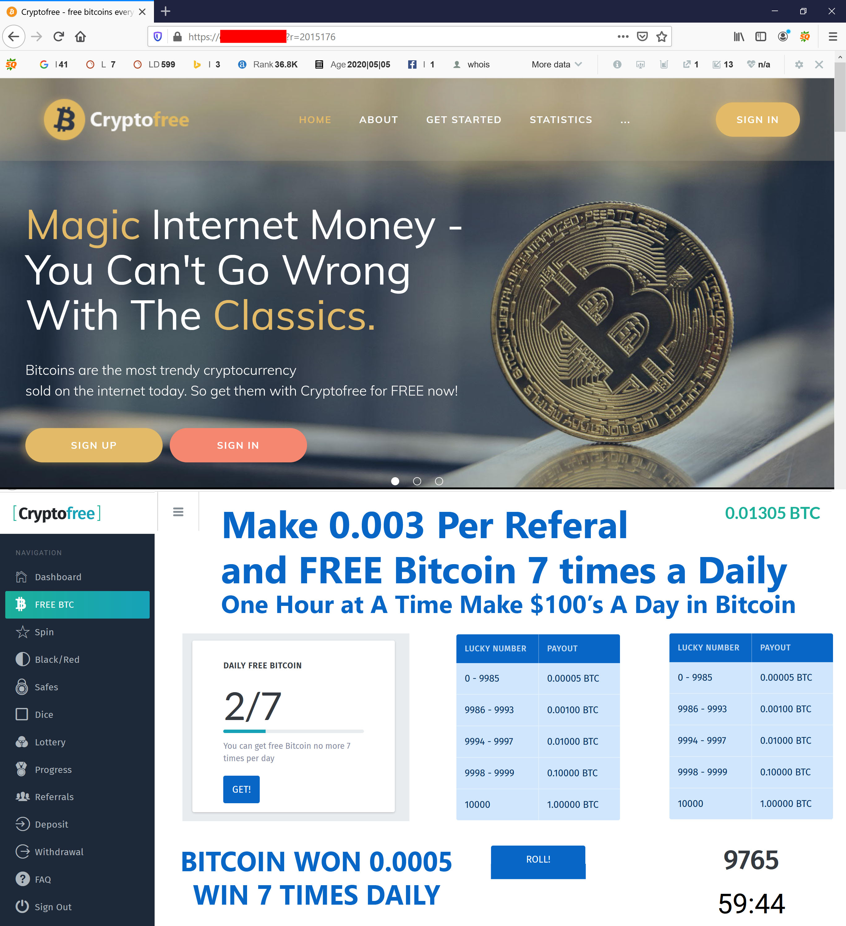 Bitcoin Doubler Investment